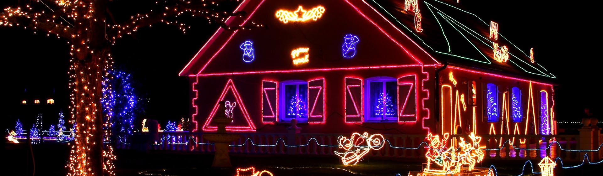 Calgary Christmas Light Installation, Christmas Light Company and Holiday Lighting Installation